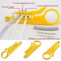 Pengupas Kabel Putar UTP Mini Rotary Wire Stripper Kulit Kabel Tang