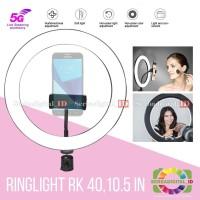 RingLight COSTA CF-40 Portabel 26cm Bi Colour LED Makeup Fotograpy