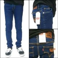celana pria jeans biru muda skinny pensil