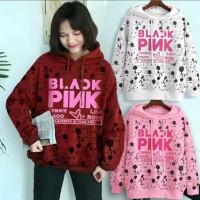 hoody sweater baju wanita korea anak remaja jaket hoodie blackpink