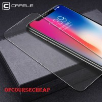 CAFELE IPHONE X / XS / XR / XS MAX TEMPERED GLASS CLEAR HD - iPhone X
