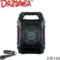 Speaker Dazumba Dw186 bluetooth karaoke party speaker
