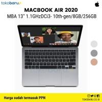 Macbook Air 2020 Intel i3 10th Gen 256GB 8GB-Retina Display