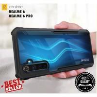 Case REALME 6 6 PRO Anti Shock Beatle Series Bumper Transparan Clear