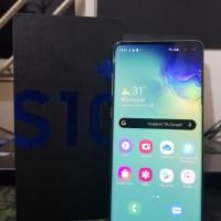 Samsung Galaxy S10+ 8/128GB Fullset Komplit Like New