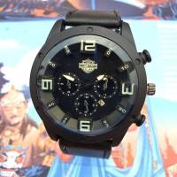 Jam tangan pria kulit HARLEY DAVIDSON tanggal aktif
