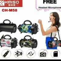 Speaker Bluetooth Wireless Subwoofer Original KIMISO CH-M58