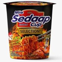 Sedaap Mie Instant Goreng Cup Korean Spicy
