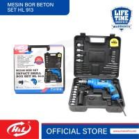 HL Mesin Bor Beton Set 13mm / Impact Drill BOX SET HL 913
