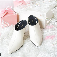 Sepatu High Heels Wanita MIA SURIN SHOES white putih black hitam