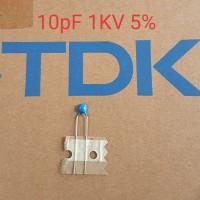 Kapasitor 10pF 1KV 5% Original TDK