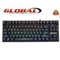 Keyboard Digital Alliance Meca Warrior X RGB - DA Gaming Meca Warrior