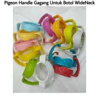 Pigeon Handle Gagang Pegangan Botol Susu Dot Pigeon Wide Neck - Kuning