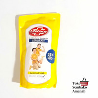 Lifebuoy sabun cair Pouch/refill 900ml Kuning