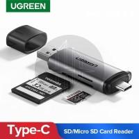 UGREEN 50706 2in1 USB Type C USB A 3.0 TF SD Card Reader OTG