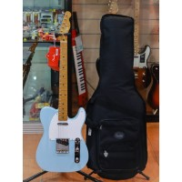 Fender Vintera 50s Telecaster Electric Guitar Maple FB Sonic Blue