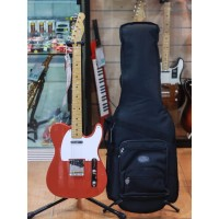 Fender Vintera 50s Telecaster Electric Guitar Maple FB Fiesta Red