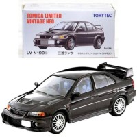 Tomica Limited Vintage Neo LV-N190b Lancer GSR Evolution VI Black TLVN