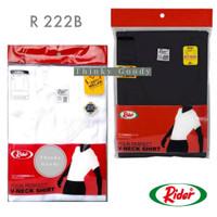 Kaos Dalam Pria Rider R222B V-neck (Hitam & Putih)