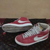 sneakers Nike blazer mid Original kulit Suede no Jordan, Reebok, puma