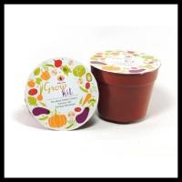 Souvenir Grow Kit Sayuran Benih Bibit Tanaman / Green Souvenir