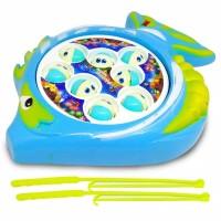 Mainan Pancing Pancingan Ikan Kolam Berputar Baterai Operation