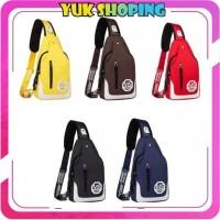 ✧YUKSHOPING✧ P069 Tas Selempang Pria Sling Bag Import Korea