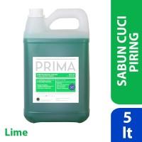 PRIMA Diswashing Regular Lime (sabun cuci piring) 5L