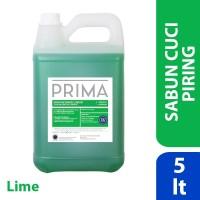 PRIMA Diswashing Premium Lime (sabun cuci piring) 5L