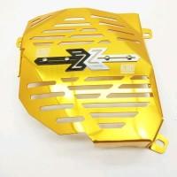 COVER RADIATOR SCARLET NMAX-AEROX 2486 LTC GOLD Berkualitas