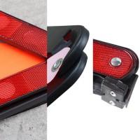 EMERGENCY TRIANGLE WARNING SIGN / SEGITIGA PENGAMAN MOBIL REFLEKTOR -