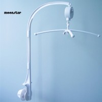 MS DIY Baby Crib Bed Bell Holder Toy Arm Bracket Wind-up Music Box