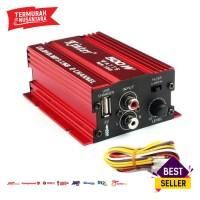 Kinter Amplifier Speaker 2 channel 500W - MA150 - Red