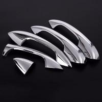 5Pcs / Set Stiker ABS untuk Mercedes Benz w205 cclass C200