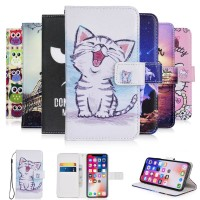 For Caterpillar Cat S41 case cartoon Wallet PU Leather CASE Fashion