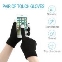 Sarung Tangan Touch Screen Pria / Wanita untuk Musim Dingin / iPhone