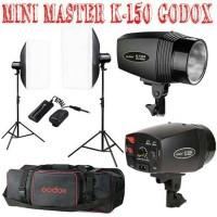 Paket Lampu Studio Mini Master K-150 GODOX sparepart