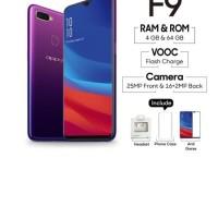 OPPO F9 Smartphone 4GB - 64GB Twilight Blue onderdil