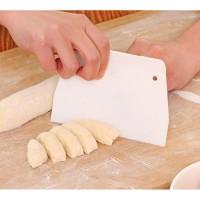 Multi-fungsional Kue Scraper Pisau Mentega Kue Roti Adonan Cutter