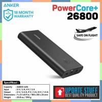 SALE Powerbank Anker Powercore 26800 Mah Qc 30 Black - A1374