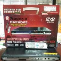 DVD PLAYER NAGOYA KARAOKE BODY FULL BESI USB RIPPING NADA BISA DIATUR