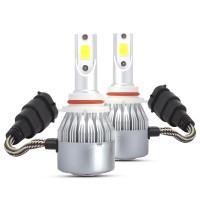 C6 9005 72W 8000LM 3000K 72W Lampu Kabut Depan Mobil 9-32v