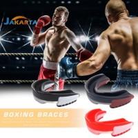 Mouth Guard Pelindung Mulut Bahan EVA untuk Boxing / Basket / Muay