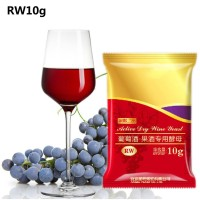 10G Wine Yeast Full Fermentation Dry Yeast Grape Alcohol Active Dry