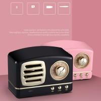 Bluetooth Speaker Wireless Bluetooth Speaker Retro Portable Klasik