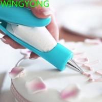Syringe Tool Sugar Fondant Craft Decorating Icing Nozzle Pen Cake