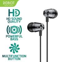 HEADSET ROBOT RE101S HANDSFREE EARPHONE SUBWOOFER BASS ORIGINAL