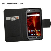 5 Colors Hot! Caterpillar Cat S41 Case Phone Leather Cover,Factory