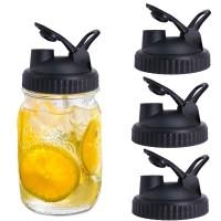 Ready Mason Jar Lids - 4 Pack Canning Lids Flip Cap Lids with