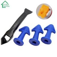 Silicone Glue Remover Sealant Smooth Scraper Grout Kit Caulk